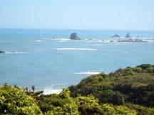 West Coast, NZ - between Westport and Greymouth