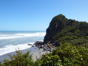 West Coast, NZ - between Westport and Greymouth