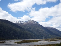 On the way to Arthur's Pass