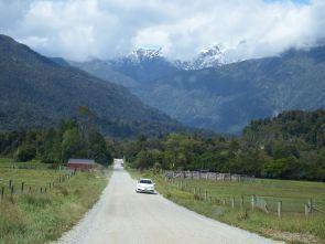 On the way to Hokitika Gorge