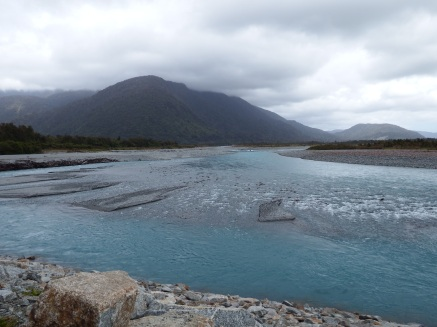 On the way to Franz Josef Glacier, NZ