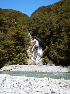 Fantail Falls, NZ