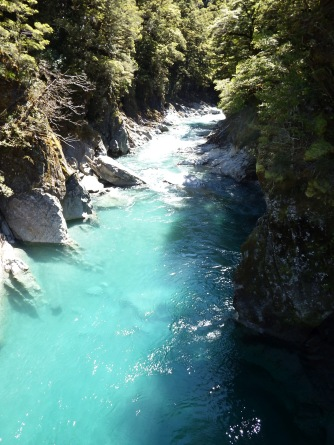 Blue Pools, NZ