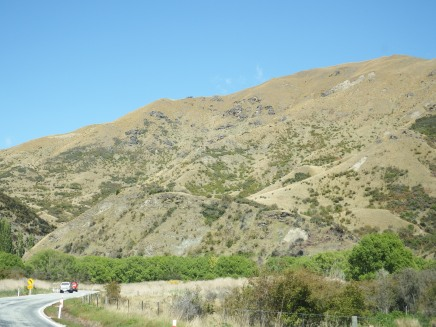 On the way to Queenstown, NZ