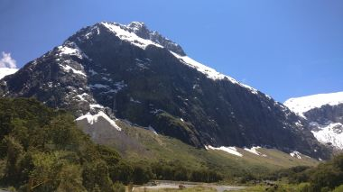 On the way to Milford Sound, NZ
