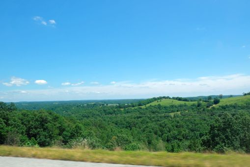 On the way to Eureka Springs, Arkansas