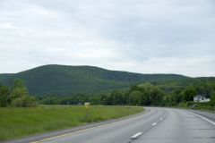 On the way to Ithaca, New York