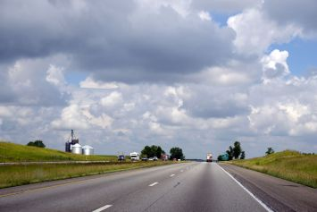 On the way to Indianapolis, Indiana