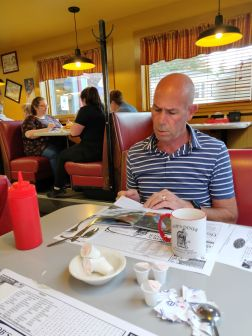 On the way to Ithaca - Bob's Diner