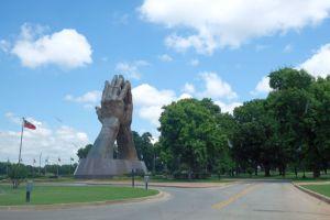 Praying Hands Oral Roberts University - Tulsa