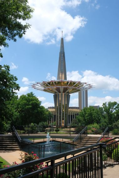 Prayer Tower Oral Roberts University - Tulsa