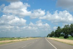 On the way to Dodge City