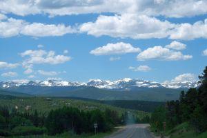 On the way to Boulder, Colorado