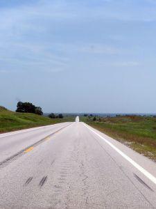 On the way to Tulsa, Oklahoma