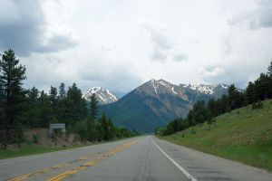 On the way to Glenwood Springs, Colorado